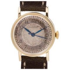 Longines Yellow Gold-Filled manual wind wristwatch