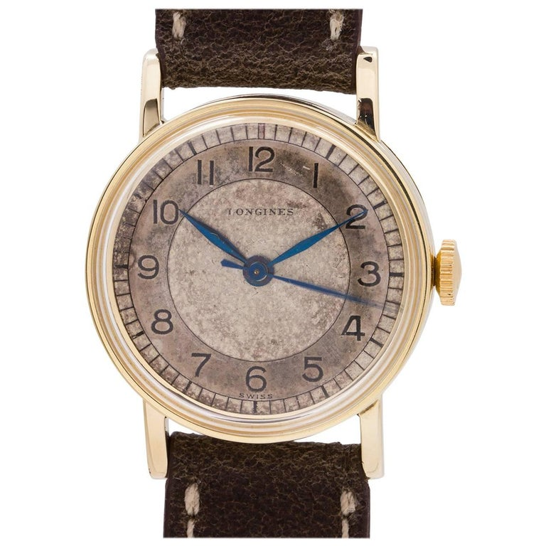 Longines Yellow Gold-Filled manual wind wristwatch