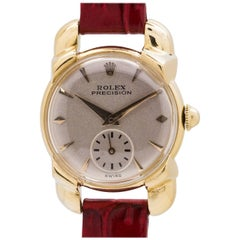 Rolex Ladies Yellow Gold Precision Dress Model manual wristwatch, circa 1952