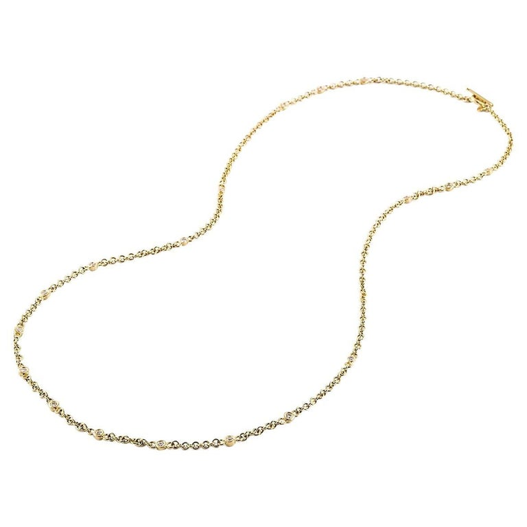 Kian Design 18 carat Yellow Gold Diamond Necklace