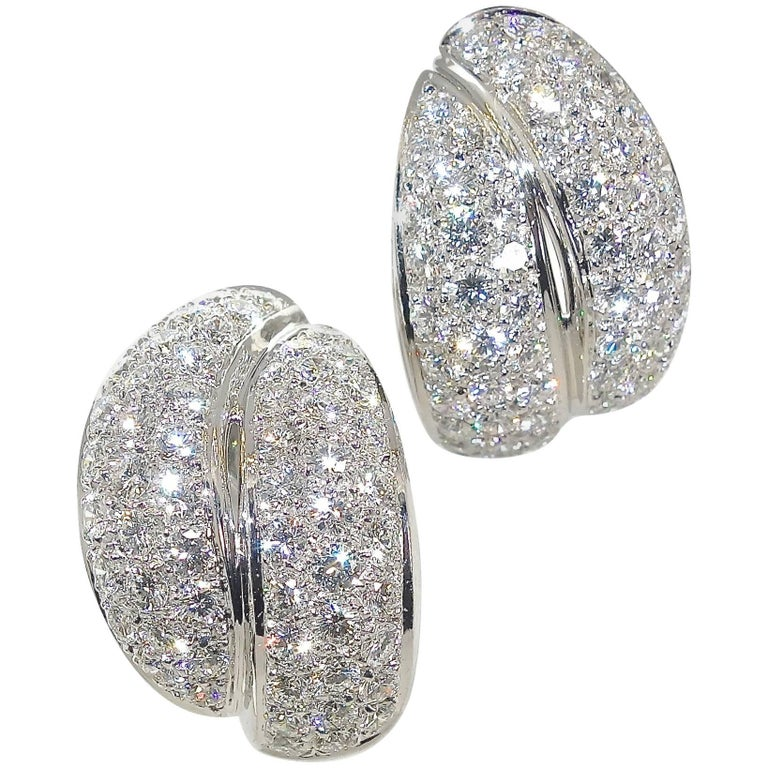 Damiani Fine Diamond Earrings