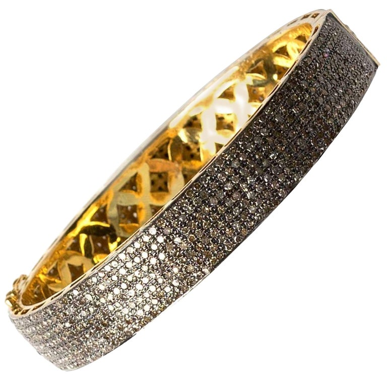 Clarissa Bronfman Diamond Bracelet For Sale