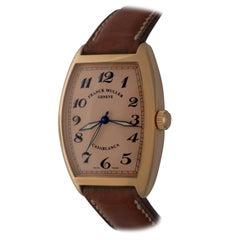 Franck Muller 18k Rose Gold Casablanca Automatic Wristwatch Model H