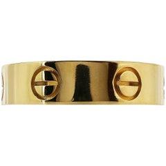 18 Karat Estate Cartier Love Ring