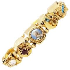 Gold Slide Bracelet