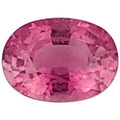 Cuprian Elbaite, Pink 2.13 Carat Tourmaline Gemstone from Mozambique