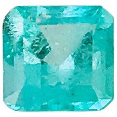 Princess-Cut, 2.25 Carat Natural Emerald, Loose Colombian Beryl Color
