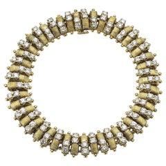 Hammerman Brothers Gold and Diamond Bracelet