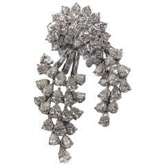 Platinum Pin with 15 Carat of Diamonds