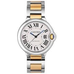 Cartier yellow gold Stainless Steel Ballon Bleu Midsize Automatic Wristwatch