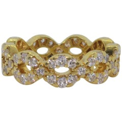Diamond Gold Band