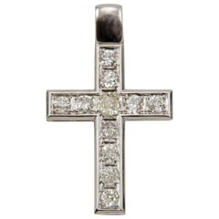 Platinum and Diamond Cross