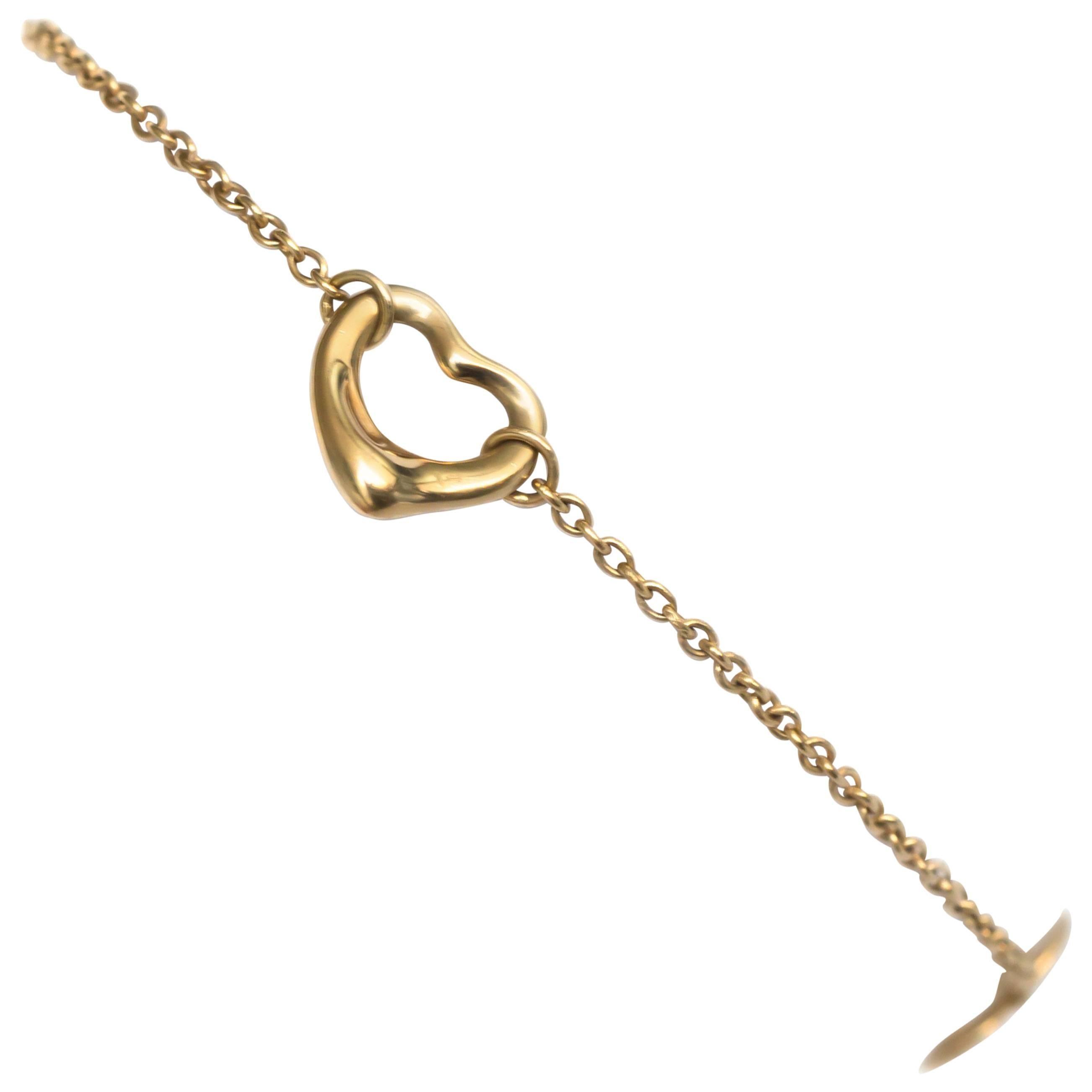 Elsa Peretti by Tiffany & Co Yellow Gold Bracelet