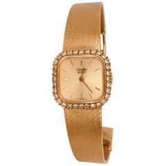 Concord Ladies Diamond Mesh Watch, Quartz Movement, Retro