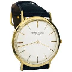 Vacheron Constantin, Swiss 17 Jewel Watch 18 Karat Ultra Thin Modern, circa 1950