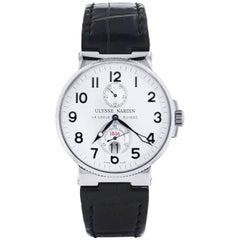 Ulysse Nardin Stainless steel Maxi Marine Chronometer Automatic Wristwatch