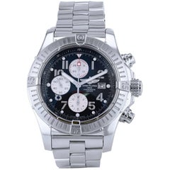Breitling Stainless steel Super Avenger Chronograph Automatic Wristwatch