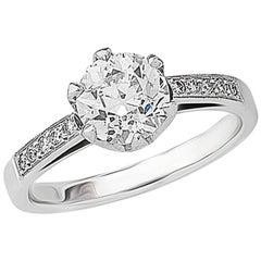 1.67ct Old European Round-Cut Diamond Ring