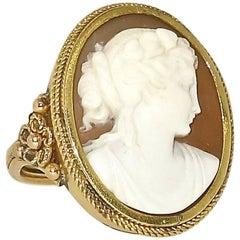 Antique Victorian Cameo Ring