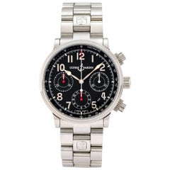 Ulysse Nardin Stainless Steel Marine Chronograph Self-Winding Wristwatch