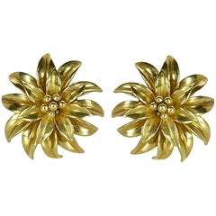 Tiffany & Co. Flower Earclips