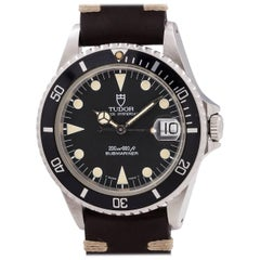 Tudor Stainless Steel Submariner self winding wristwatch Ref 75190, circa 1993