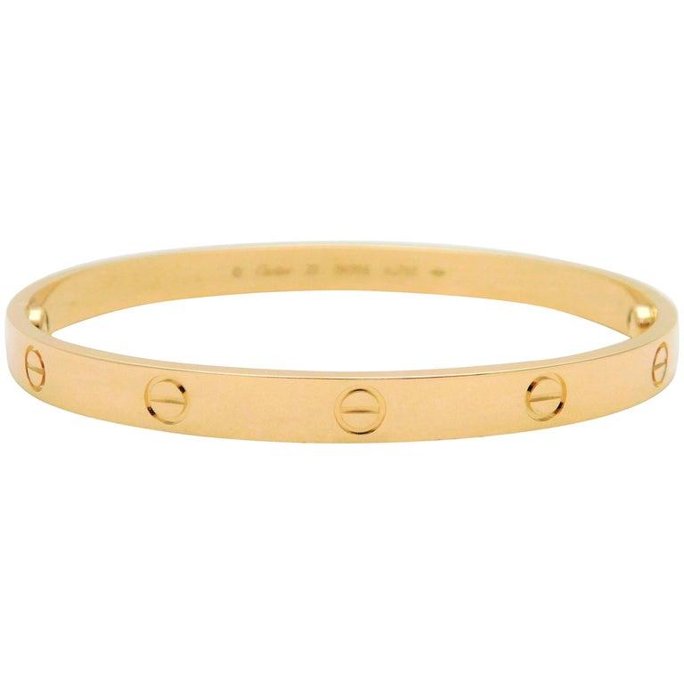 Cartier 18 Karat Love Bracelet