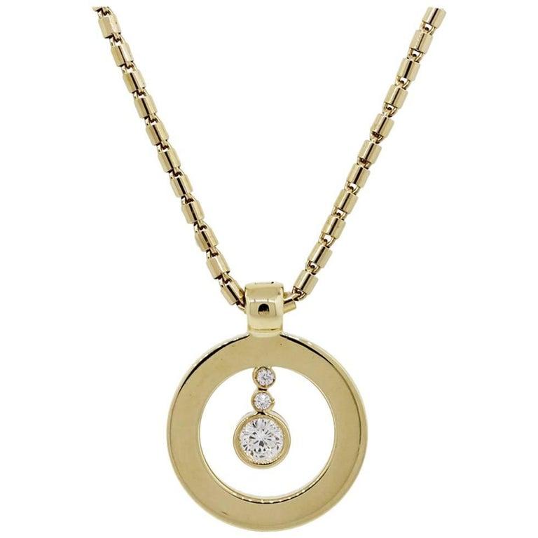 Roberto Coin Cento Diamond Pendant Necklace