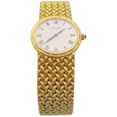 Gold Piaget Wrist Watch