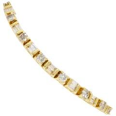 3.50 Carat Diamond Line Tennis Bracelet