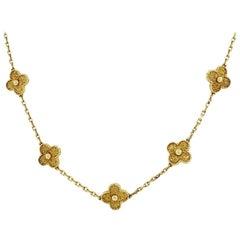 Van Cleef & Arpels 20 Motif Necklace