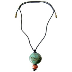 Doyle Lane California Studio Ceramic Bead Necklace