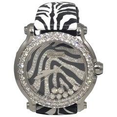 Chopard Happy Sport Animal World Gold and Diamond Ladies Watch 27/8475-2003