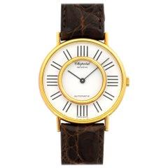 Chopard Yellow Gold Automatic Wristwatch, circa 1980s
