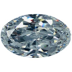 Magnificent 6.73 Carat Oval GIA Certified D Internally Flawless Type 2a