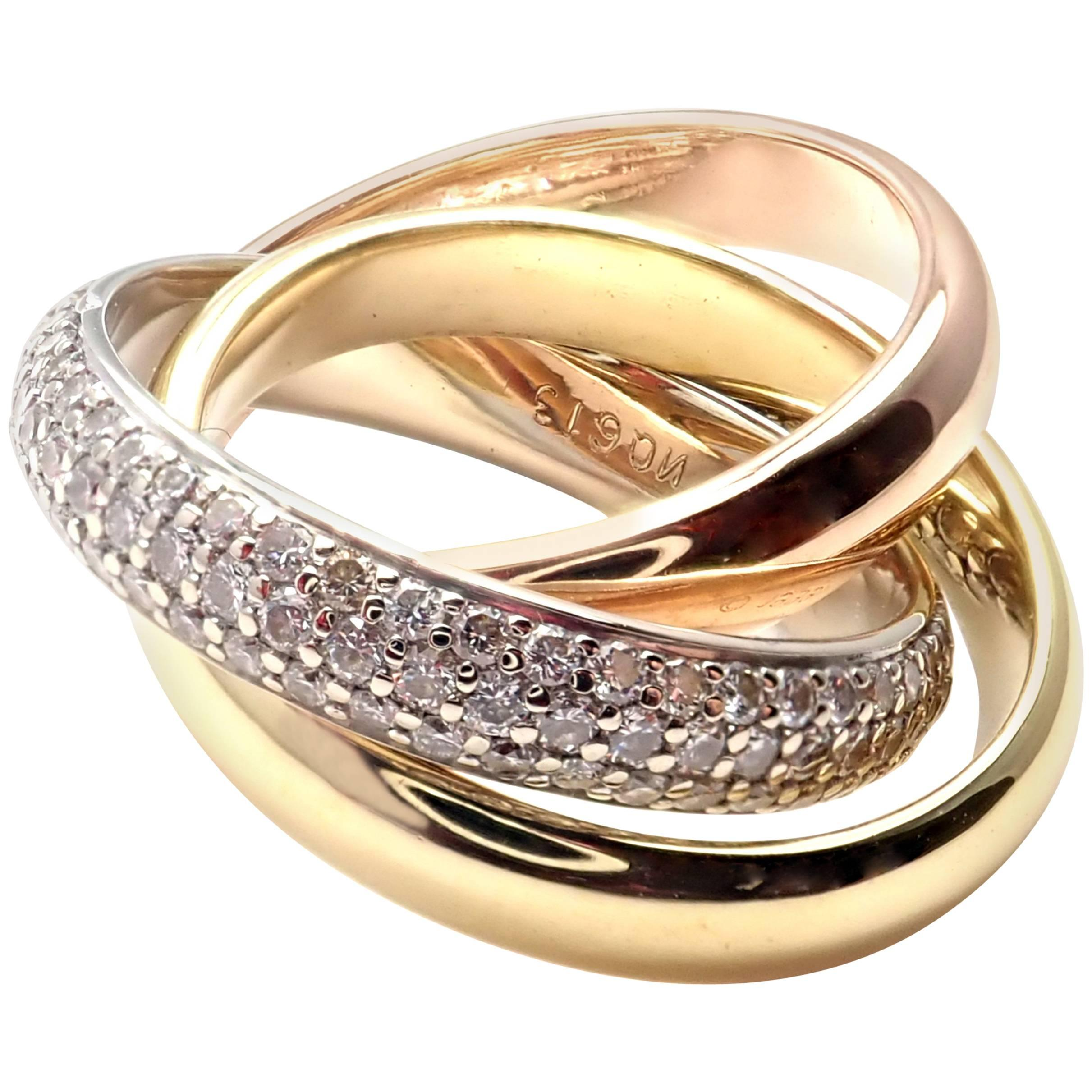 colored wedding tri rings color colors of triple bands fresh ring band inspirations single knot gold love
