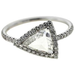 Triangle Diamond (Certified) Engagement Ring