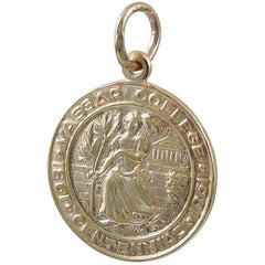 Gold Tiffany Vassar College Medal