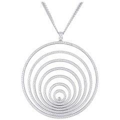 Chopard Happy Spirit Diamond Pendant 8.30 carats