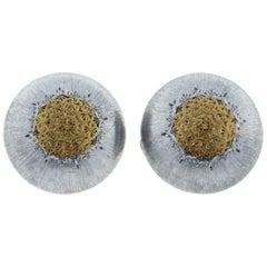 Buccellati Classic Button Earring