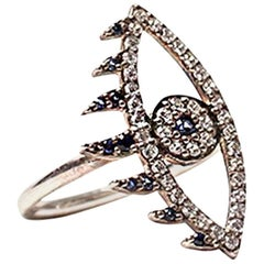 Clarissa Bronfman 'Evil Eye' Ring