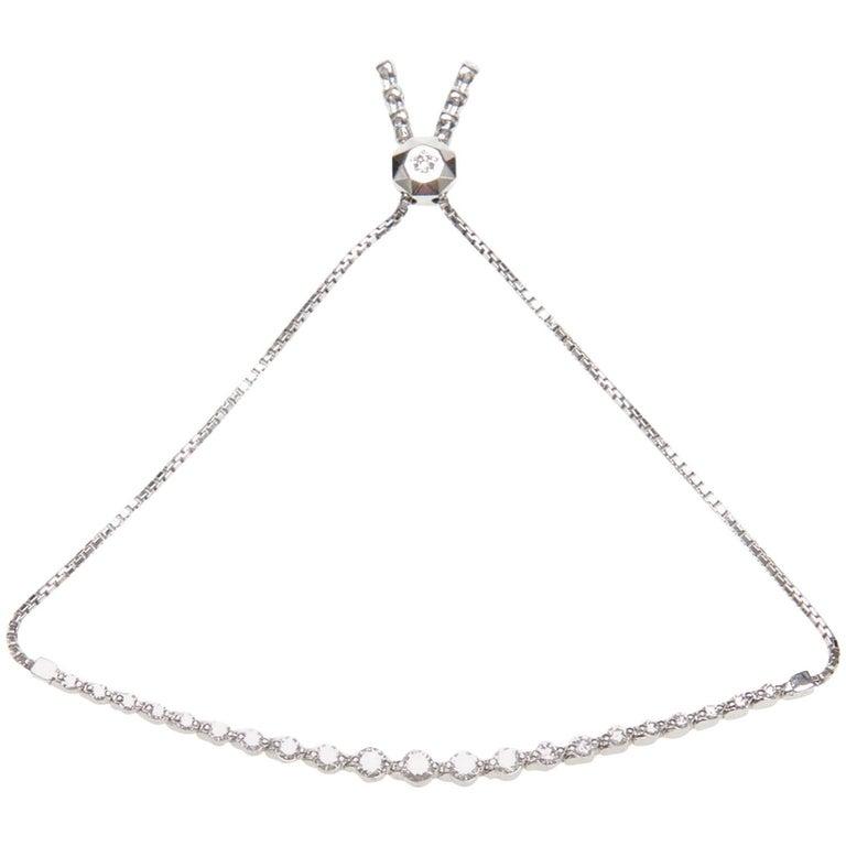 Diamond String Bracelet For Sale