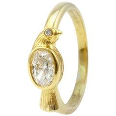 Julius Cohen Diamond Bird Ring