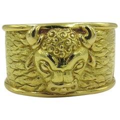 David Webb Gold Cuff Bracelet