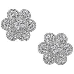 Emilio Jewelry Flower Petal Earring