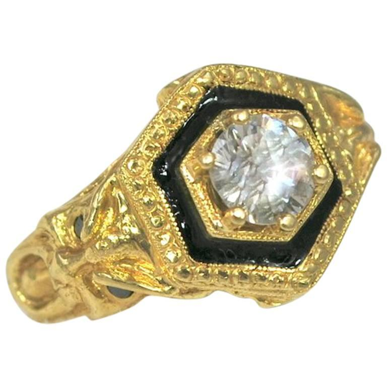 1.25 Carat Diamond Wind God Ring