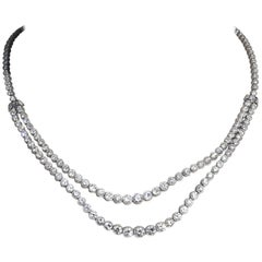 Diamond Platinum Diamond Necklace