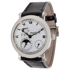 Patek Philippe Officer Campaign 5054P Men's Watch in Platinum