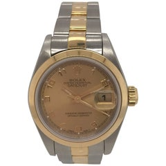 Rolex Ladies yellow gold Stainless Steel Datejust Wristwatch, 1995