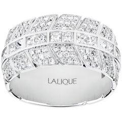 Èros Diamond Ring Large 18 Karat White Gold